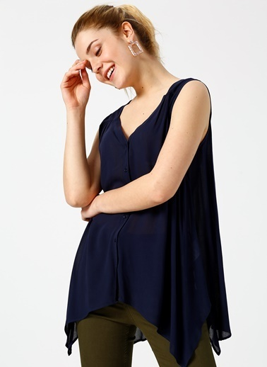 Random Bluz Lacivert